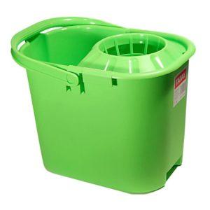 Cubo con escurridor rectangular 15 litros