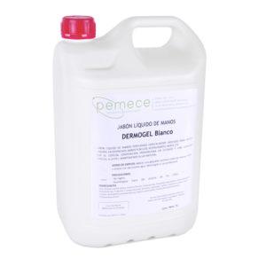 Dermogel blanco jabón manos 5 litros