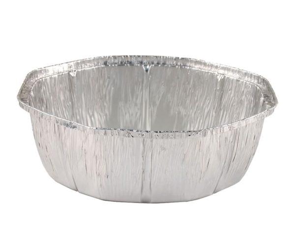 Bandeja aluminio pollo oval
