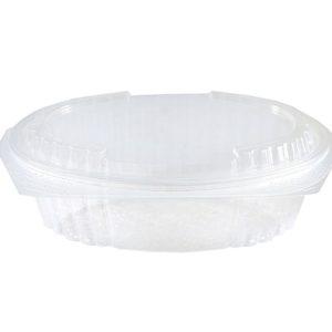 Tarrina micro oval 250 plana