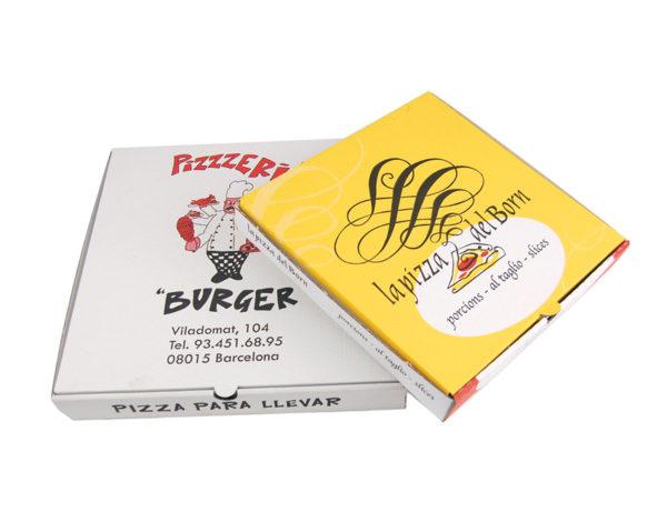 caja pizza personalizada
