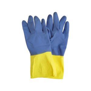 guantes bicolor pequeños