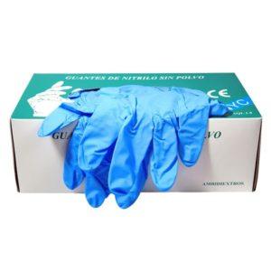 guantes nitrilo pequeños