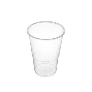 Vaso plástico transparente 150cc