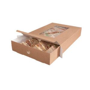 Bandeja catering de carton