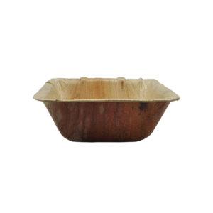 Bowl de hoja de palma - cuadrado - 130 X 1630 mm