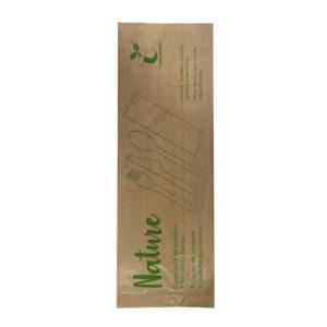 Set de cubiertos de madera-Set 1