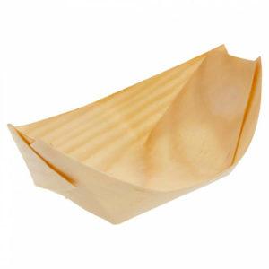 Barqueta de madera - 140 x 80 x 20 mm
