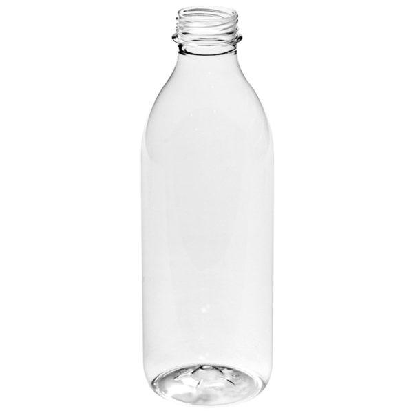 Botellas PET con tapón pre-enroscado incluido