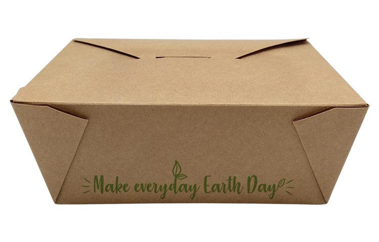 Caja take away – Make everyday earth day